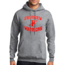 hoodie-adult-grey_Fairview-Spear-(Red-&-White)