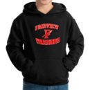 hoodie-youth-black_Fairview-Spear-(Red-&-White)