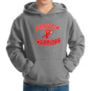 hoodie-youth-dark-grey_Fairview-Spear-(Red-&-White)