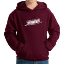 hoodie-youth-maroon_Rocky-River-Saber-(White)